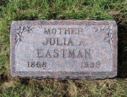 Julia Ann <I>Waddle</I> Eastman