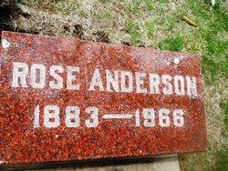 Rose <I>Underwood</I> Anderson
