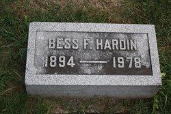 "Bessie Enrie ""Bess"" <I>Fee</I> Hardin"