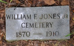 Jones, William F. Cemetery