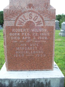 Margaret S. <I>Brocklebank</I> Wilson