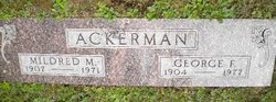 Mildred M. <I>Piggott</I> Ackerman