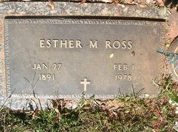 Esther M Ross
