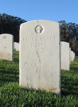 Sgt James Henry Berry