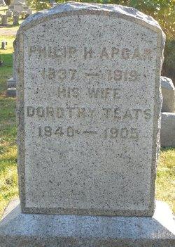 "Dorothea ""Dorothy"" <I>Teats</I> Apgar"