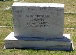 Harriet Worcester <I>Kittredge</I> Baldwin