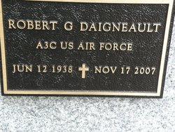 "Robert George ""Bob"" Daigneault"