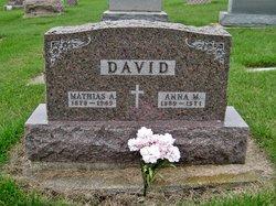 Anna Mary <I>Zoubek</I> David