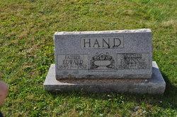 Florence Minnie <I>Lewis</I> Hand