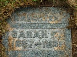 "Sarah F. ""Sally"" Hoop"