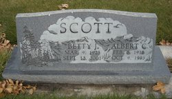 Betty J <I>Reintsma</I> Scott