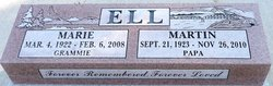 "Agnes Marie ""Marie"" <I>MacCormack</I> Ell"