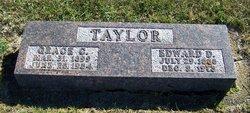 Edward D Taylor