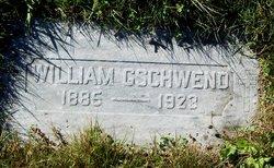 """Johann Wilhelm """"William"""" Gschwend"""