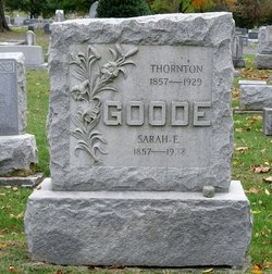 Sarah E. <I>Newlin</I> Goode