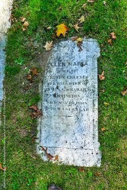 Ellen Maria <I>Armington</I> Greene