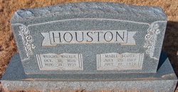 Mable Sallie <I>Scott</I> Houston