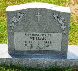 Bernardine <I>Pickett</I> Williams