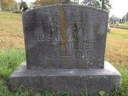 Rosanna <I>Henthorn</I> Miller