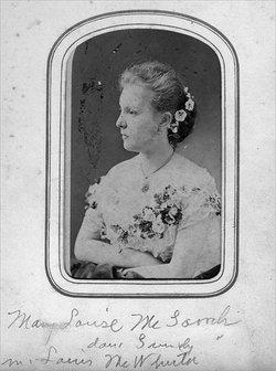 Mary Louise <I>McGavock</I> McWhirter