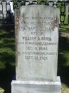 Eva Marie <I>Schaaf</I> Briel