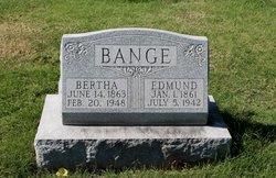 Bertha Johanna <I>Hengstler</I> Bange