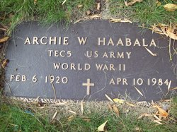 Archie William Haabala
