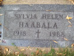 Sylvia Helen Haabala