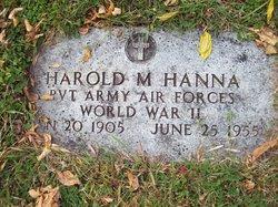 Harold Montgomery Hanna