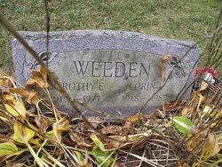 Dorothy E. <I>Ketchum</I> Weeden