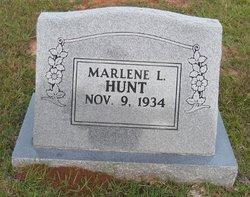Marlene <I>Lucas</I> Hunt