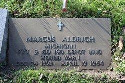 PVT Marcus Aldrich