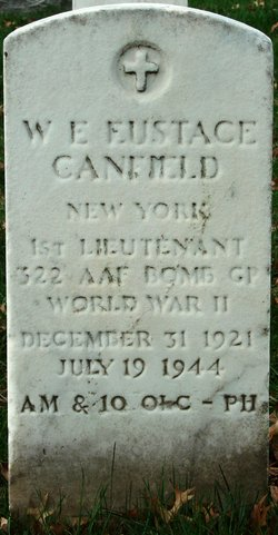 1LT William E Eustace Canfield