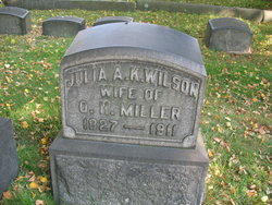 Julia A.K. <I>Wilson</I> Miller