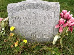 "Donna Mae ""Mima"" <I>Fox</I> Angello"