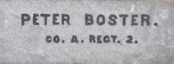 Pvt Peter Bostler