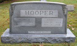 Sarah Irene <I>Wike</I> Hooper