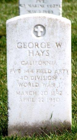 George W Hays