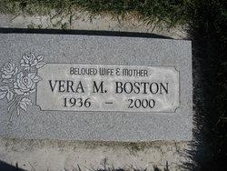 Vera M Boston