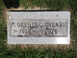 Florence G <I>Lane</I> Overby