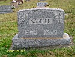 Daisy May <I>Cline</I> Santee