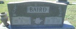 "Alice Lee ""Polly"" <I>McIntire</I> Baird"