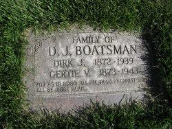 """Dirk John """"Dick"""" Boatsman"""