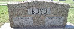 """Kenneth Loranza """"Buster"""" Boyd"""