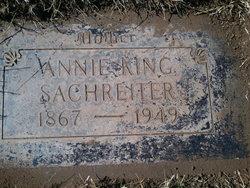 Annie <I>King</I> Sachreiter
