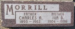 Iva Bertha Lucille <I>Klapperich</I> Morrill