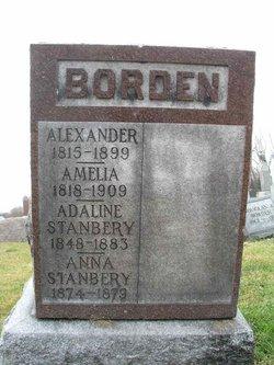 Amelia Ann <I>Napier</I> Borden