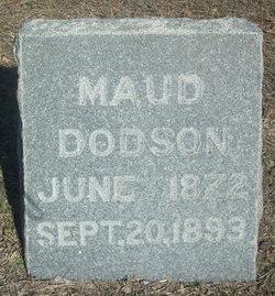 Maud Jane <I>Towler</I> Dodson