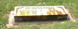 Mary <I>Stephens</I> Hebenstreit