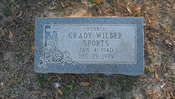 "Grady Wilber ""Bubble"" Sports"